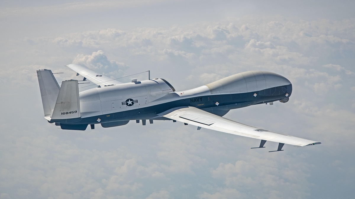 Navy conducts first MQ-4C Triton test flight with multi-intelligence upgrade