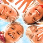 marie kondo tidying up smiling girls sparks joy