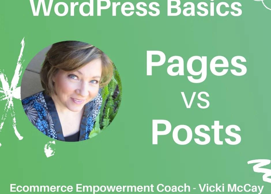 WordPress Basics Page vs Post