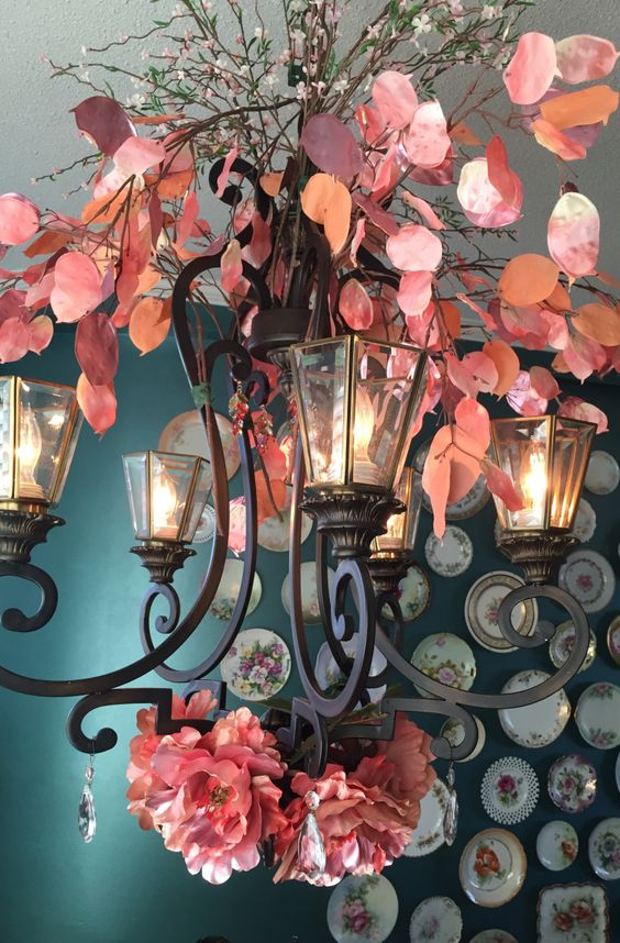 Decorate a Chandelier