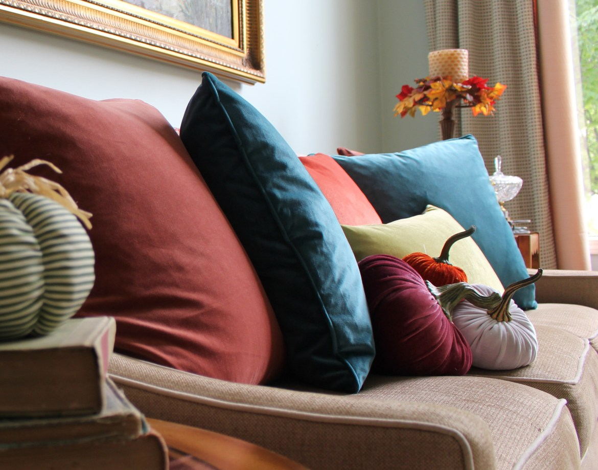 5 Items to Add Traditional Fall Color to your Home