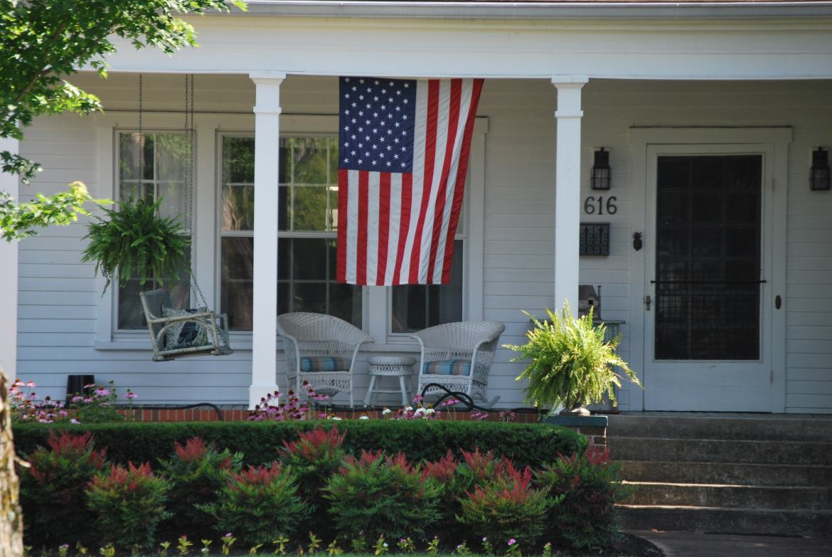 Southern Front Porch Decorating Ideas