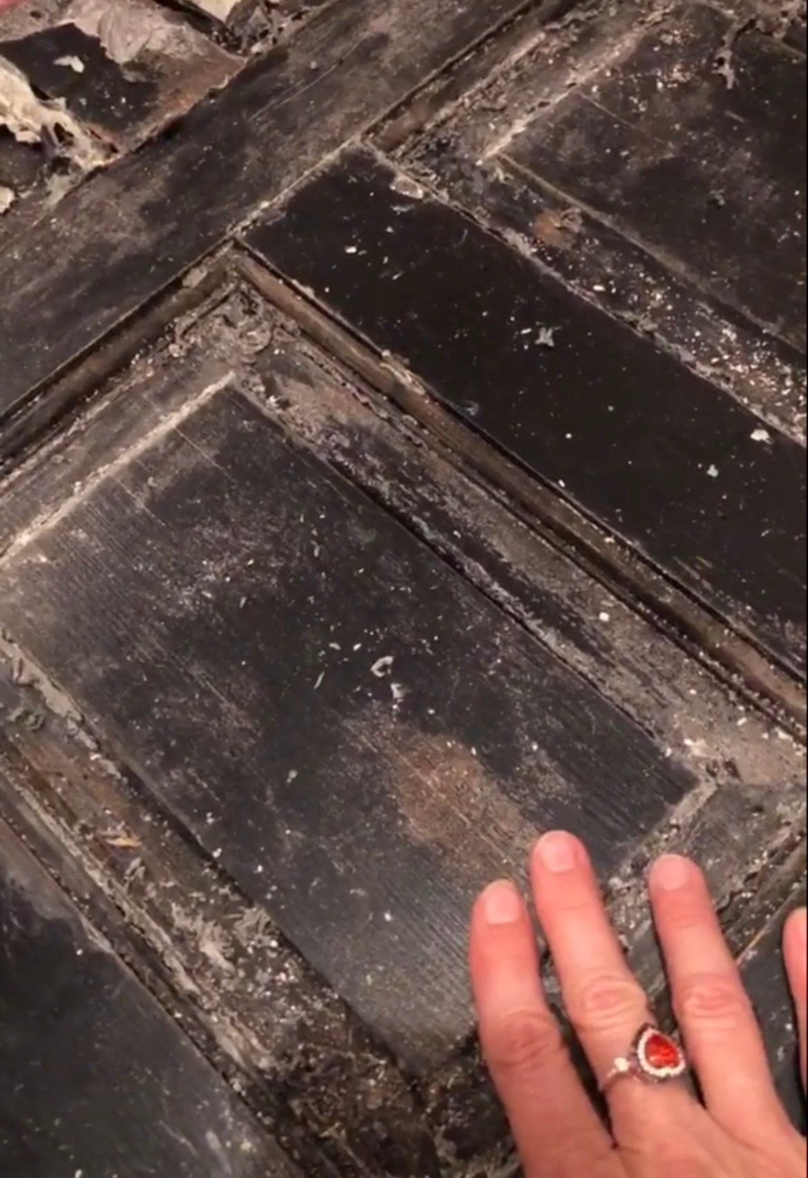 How to refinish a wood door on a budget