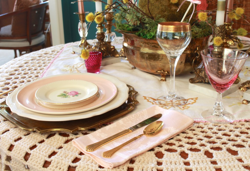 Limoge Tablesetting