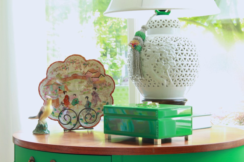Vintage Asian Decor