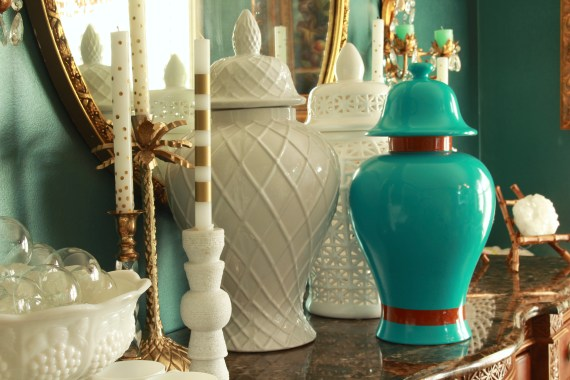 How to Spray Paint a Ginger Jar