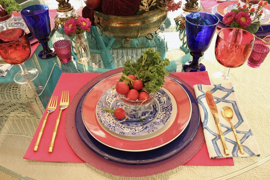 Fall Harvest Table Setting