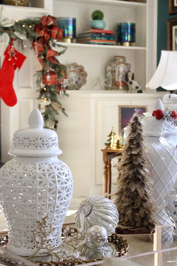 Chinoiserie Christmas Decor Ideas