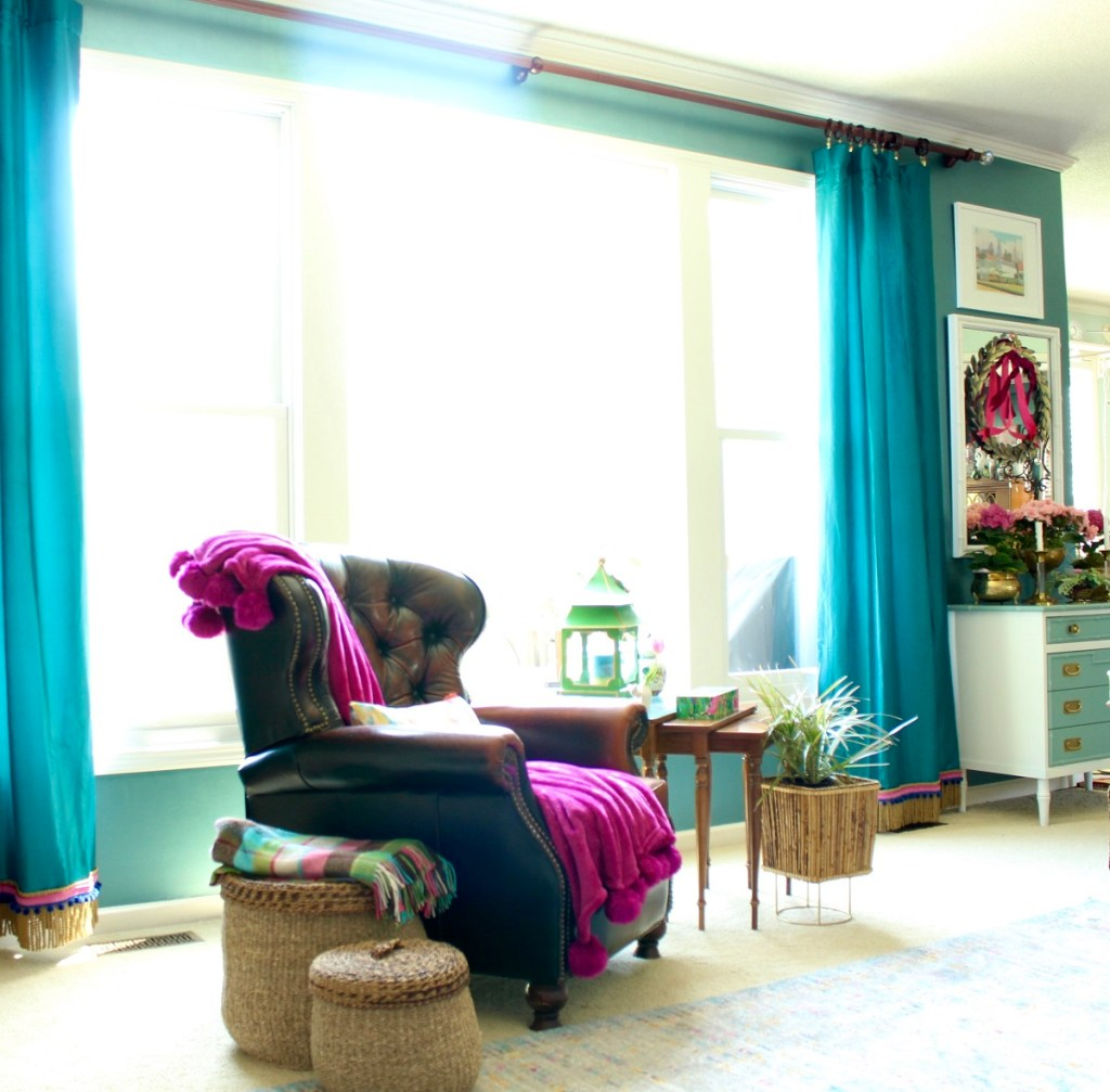 DIY: Adding Trim to Curtains and Drapes