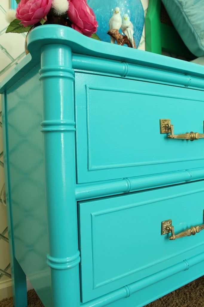 Turquoise Nightstands