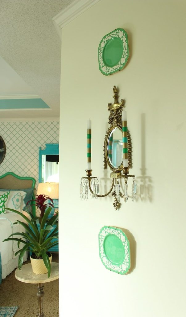 Vintage Decor in Master Bedroom