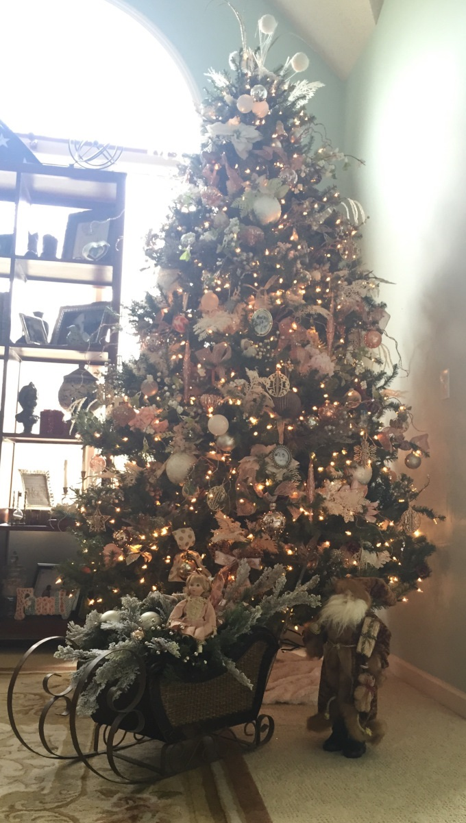 Old World Gold Christmas Tree