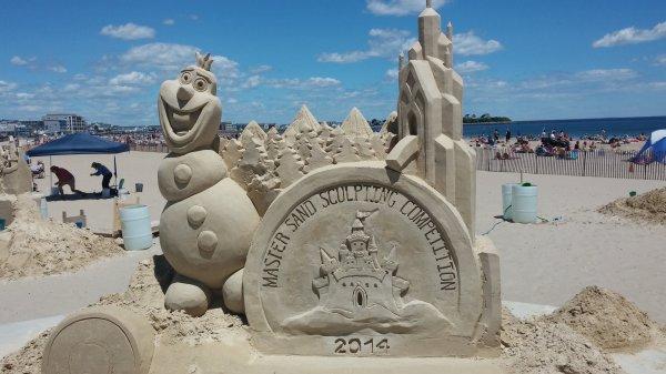 Hampton Beach Sand Sculpting Competition - Hampshire