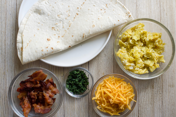 Copycat TB breakfast quesadillas