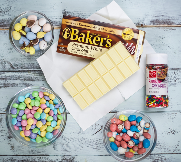 easter Chocolate Bark- ingredients
