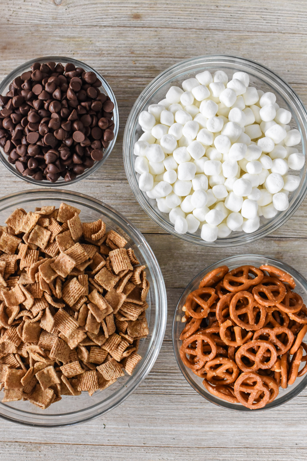 Campfire S'Mores Trail Mix