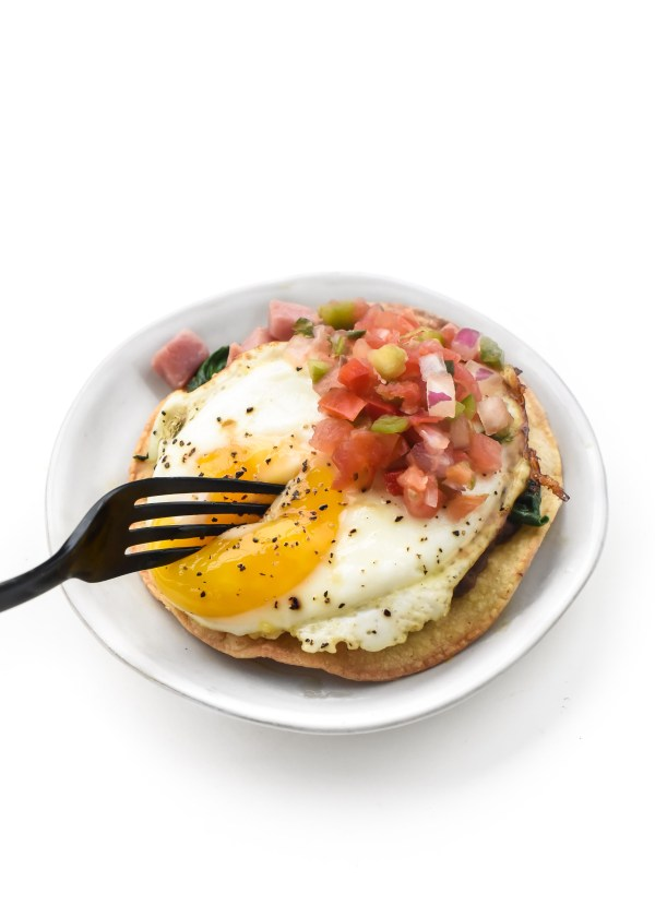 New Year's Day Breakfast Tostadas