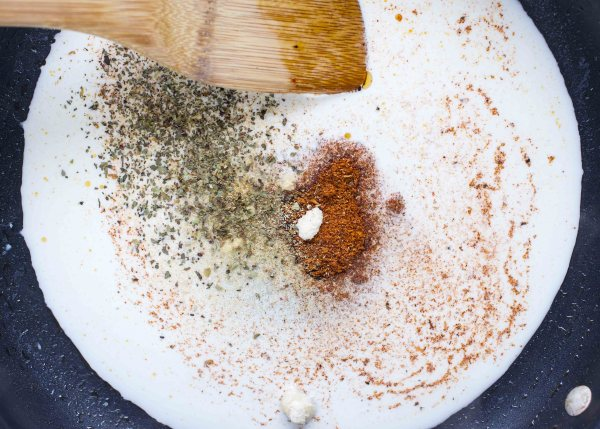 Creamy Cajun Pasta with Andouille Sausage