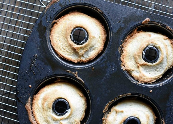 Gluten Free Mini Angel Food Cakes