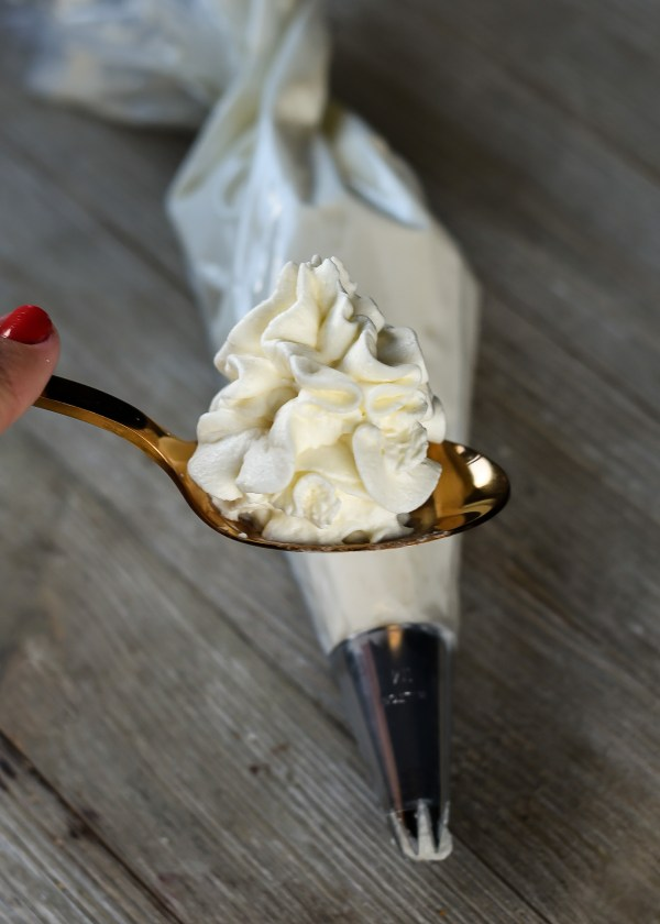 Homemade Vanilla Whipped Cream