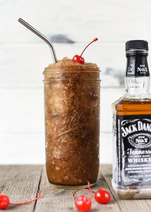Jack and Cherry Coke Slushies