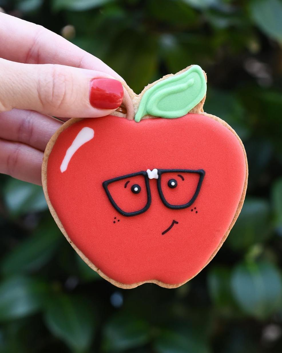 nerdy apple