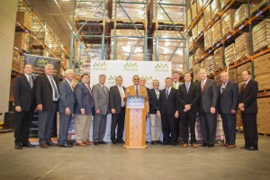 The U.S. peanut industry donates more than 30,000 jars of peanut butter to Capital Area Food Bank in Washington, D.C. on National Ag Day, March 21, 2017.