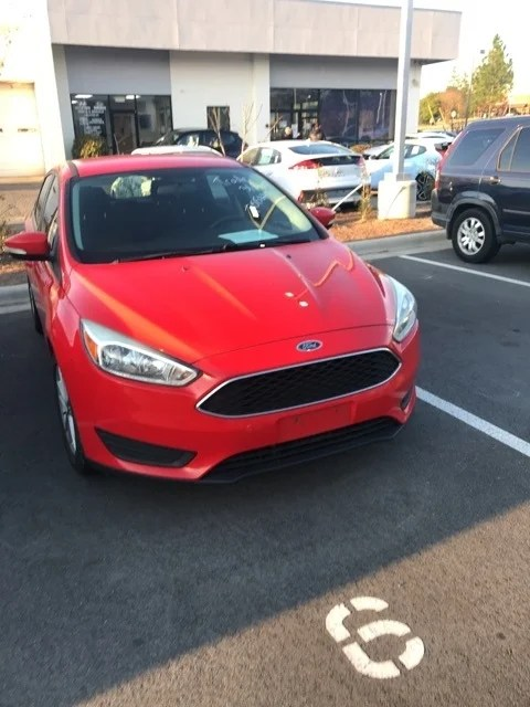 Red 2015 Ford Focus : focus, Focus, Southern, Pines,, Raleigh, Pines