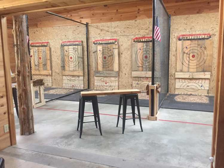 Axe Throwing in Cleveland, Georgia