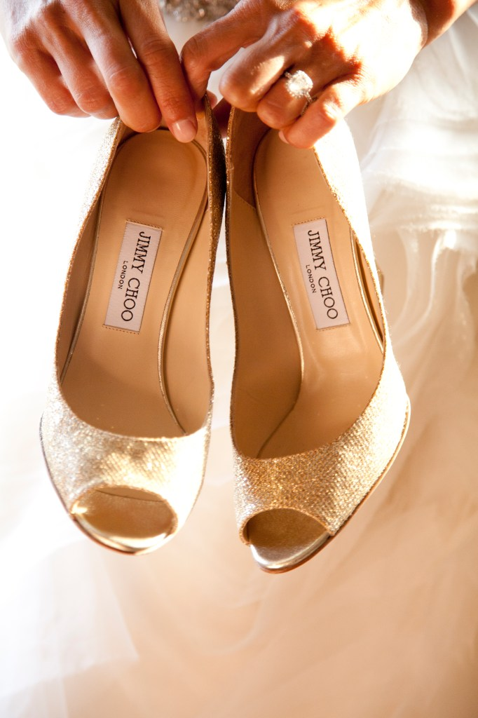 gold-jimmy-choo-wedding-wedges