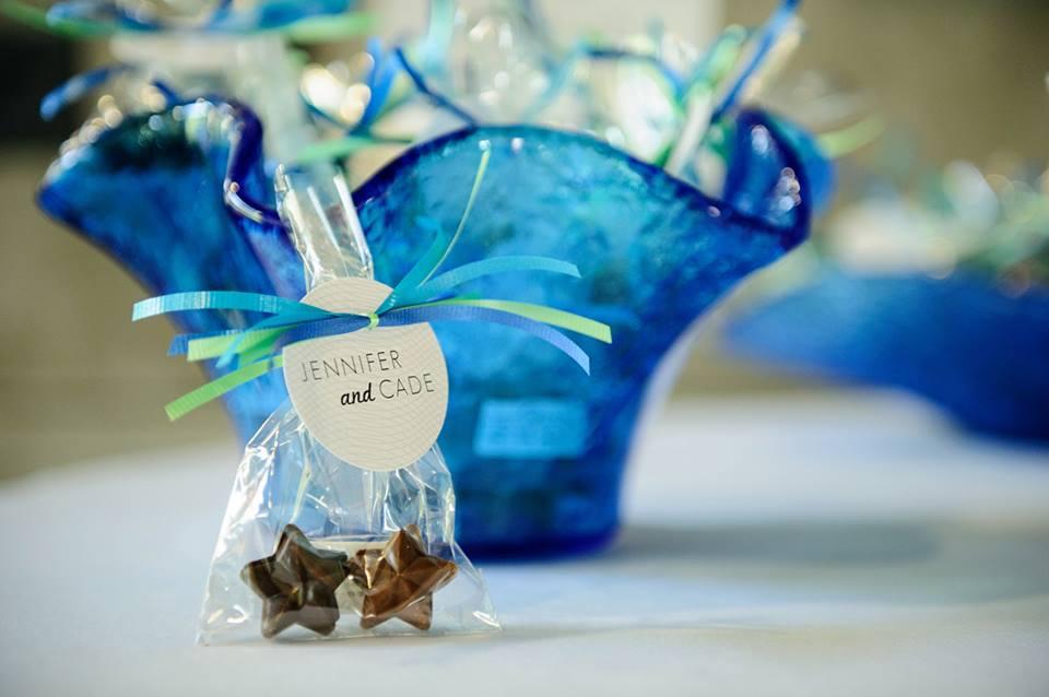 star-chocolate-wedding-favor