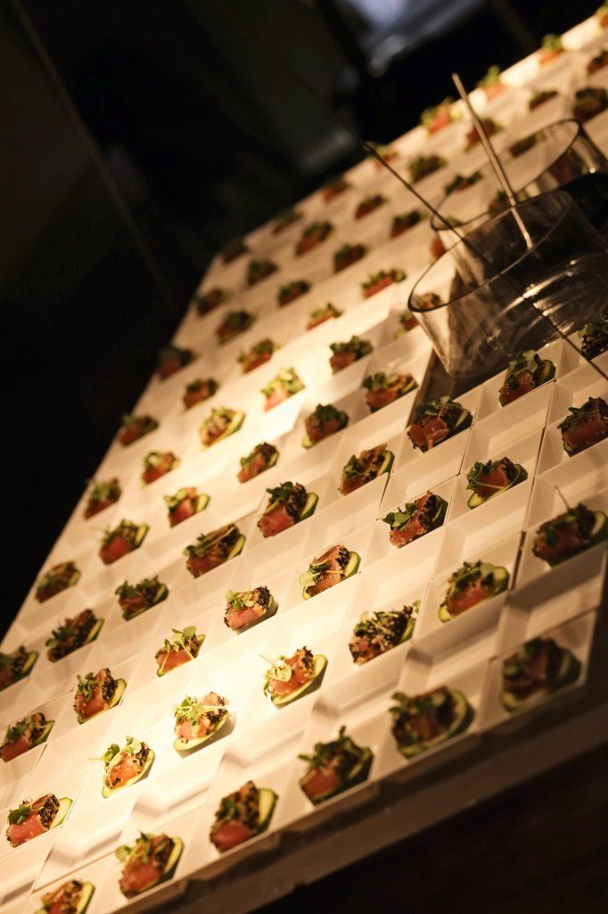 pretty presentations catering | reception stations