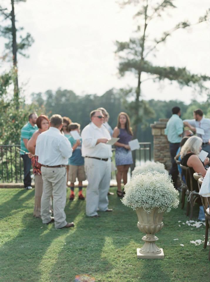 elegant outdoor ms wedding
