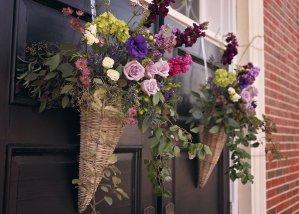 meridian ms florist | purple wedding flowers