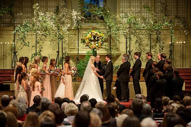 First Baptist Church Wedding Meridian Mississippi