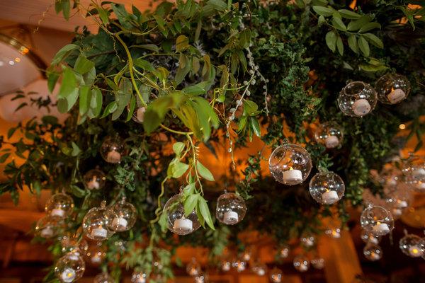 greenery chandelier   mississippi wedding