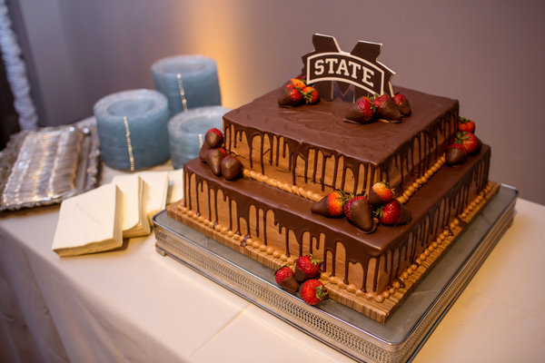 Mississippi State Themed Grooms Cake