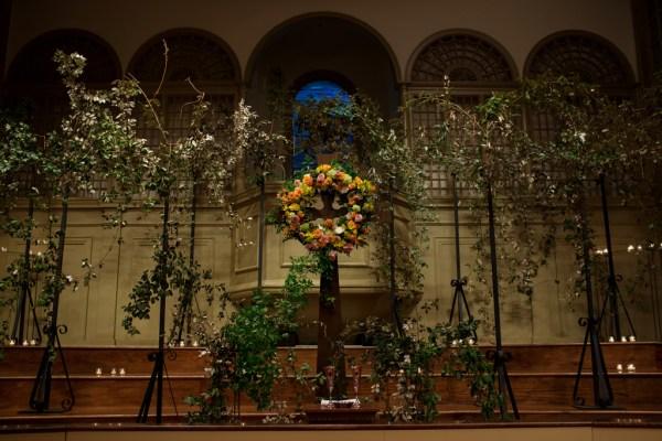 Ceremony Flowers for a Boho Wedding