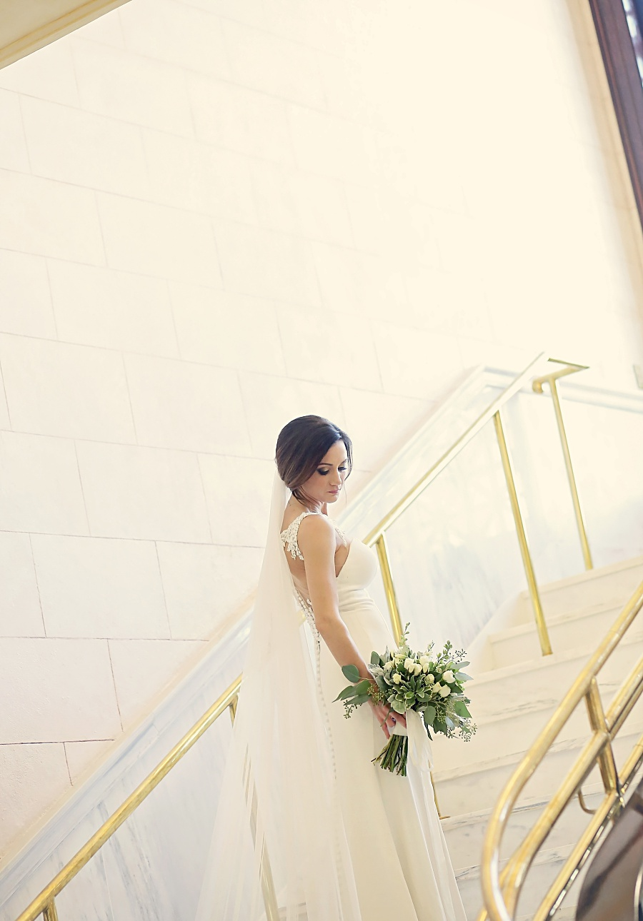 city hall bridal session meridian ms