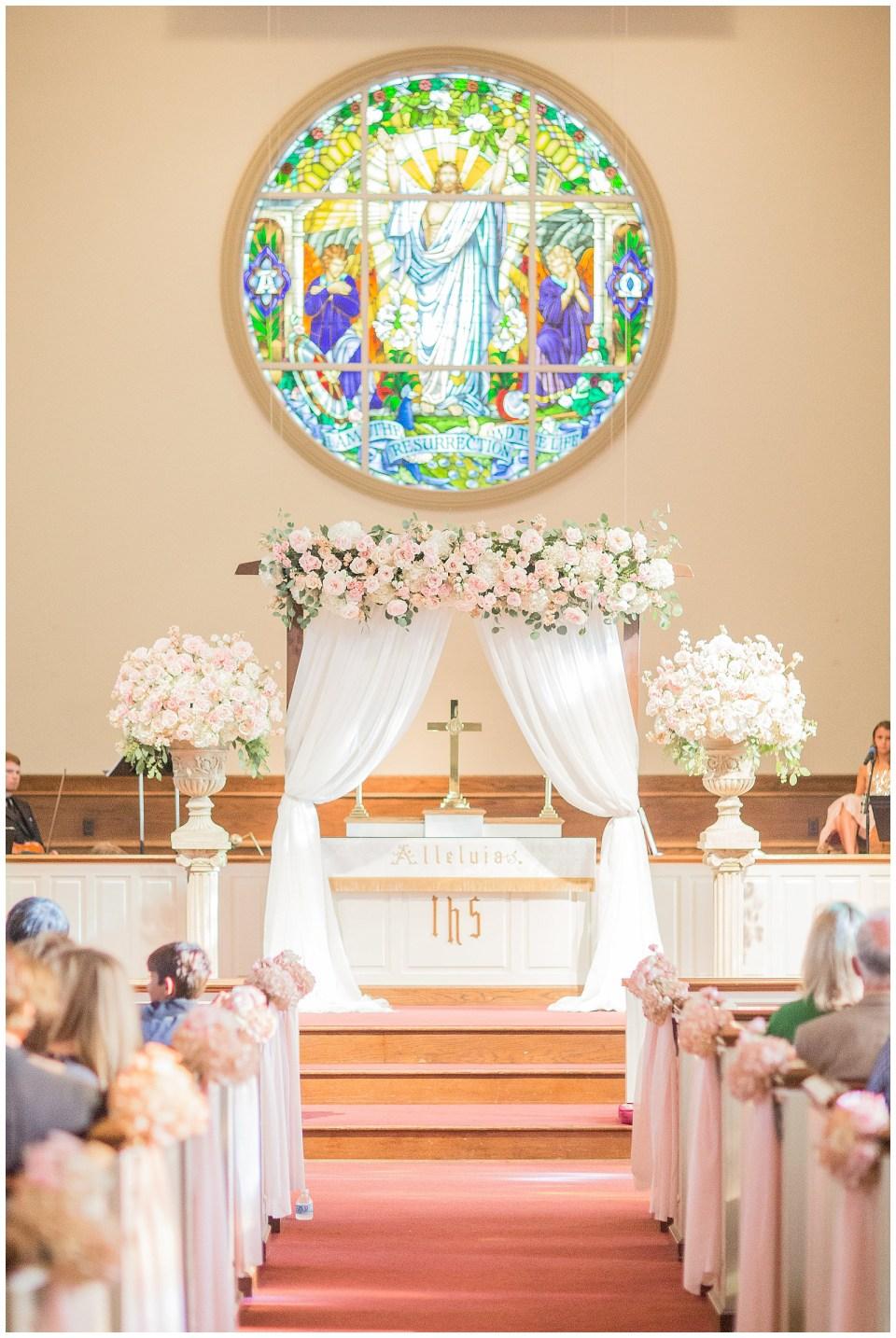 Philadelphia Mississippi Home Wedding