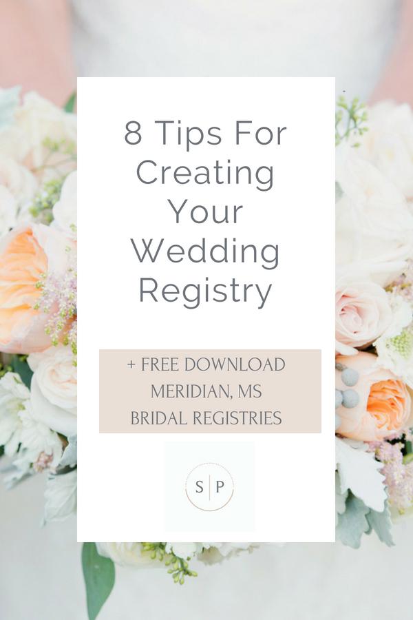 Meridian MS Bridal Registries