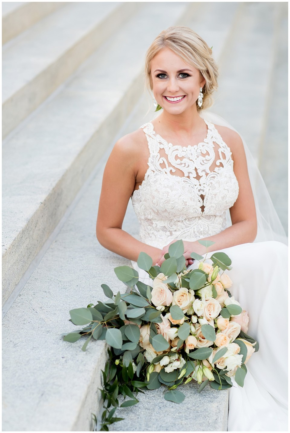 Jackson Mississippi Outdoor Bridal Portraits