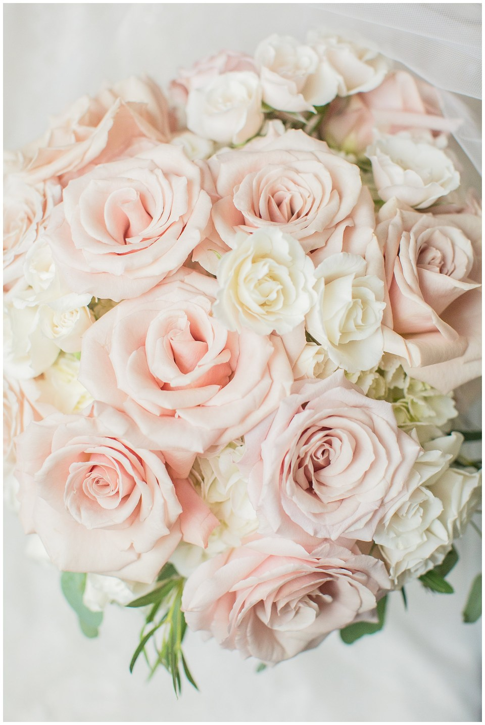 Blush and Cream Bridal Bouquet