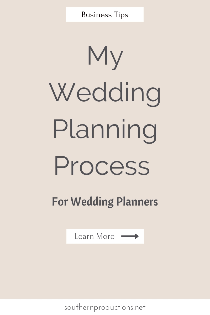 Education for Wedding Planners