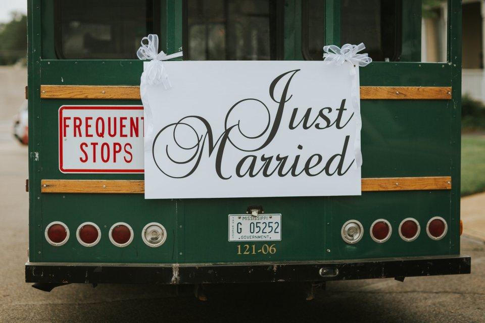 Meridian MS Wedding Trolley
