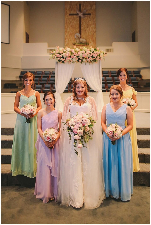 Disney Inspired Mississippi Wedding
