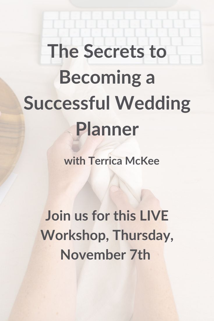 The Secrets to Becoming a Successful Wedding Planner