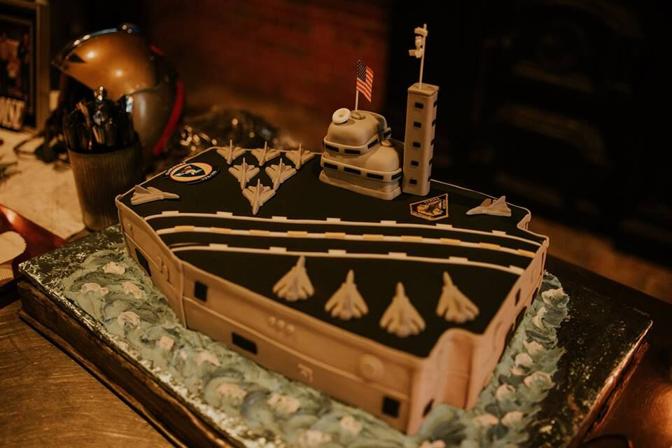 Submarine Grooms Cake