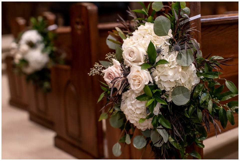 Meridian, Mississippi Fall Wedding | First Presbyterian and City Hall