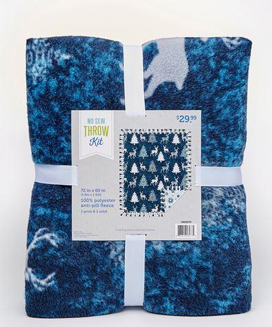 Joann Fabric No Sew Throw Kit : joann, fabric, throw, Tunel, Taška, Adelaide, Joann, Fabrics, Fleece, Patterns, Jamievanhorne.com